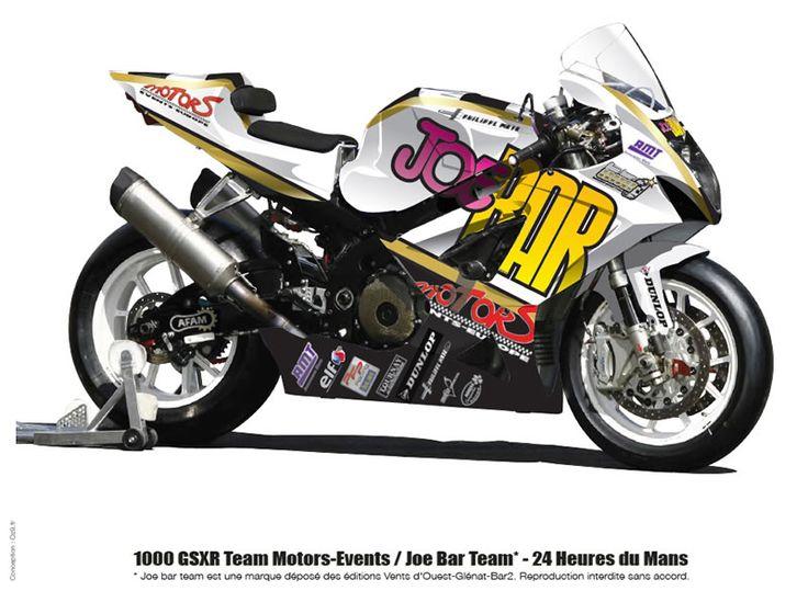 Suzuki GSXR 1000 2008 Joe Bar Team | Motos Suzuki GSX-R #Cars #Speed #HotRod