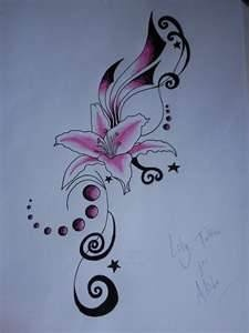 Pink Lily Tattoo By Jess Wood On DeviantART