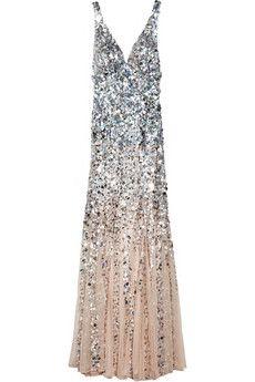 Wedding Dress Inspiration: Sparkly Dress, Style, Rachel Gilbert, Dégradé Sequined, Dresses, Prom Dress, Giselle Dégradé