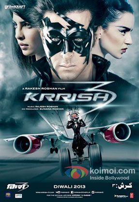 Krrish 3 Review | Rating: 2/5 Stars (Two Stars)