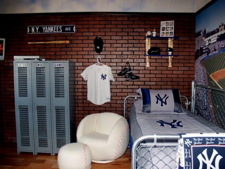 60+ Boys Baseball Themed Bedroom Ideas http://homecantuk.com/60-boys-baseball-themed-bedroom-ideas/