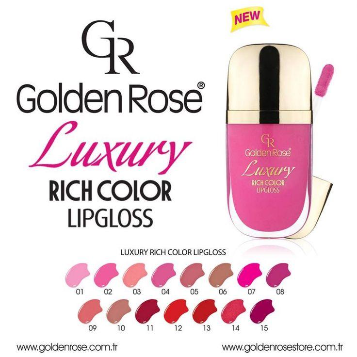 Golden Rose Luxury Rich Color Lipgloss - Поиск в Google