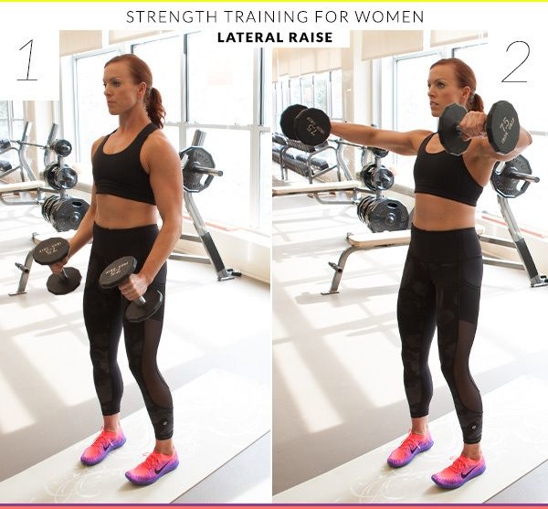 """From her experience with clients, Beth Lewis, master trainer at Clay Health Club & Spa, finds that women tend to gravitate toward cardio—and run away from heavy lifting for fear of bulking up. """"The first thing they do is grab 3-pound weights,"""" Lewis said, """"but if you do a set of 10, you�…"""