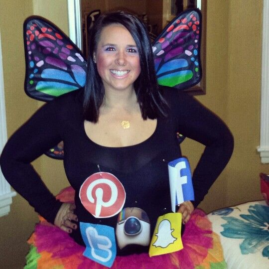 social butterfly costume halloween costume ideashalloween - Halloween Social Ideas