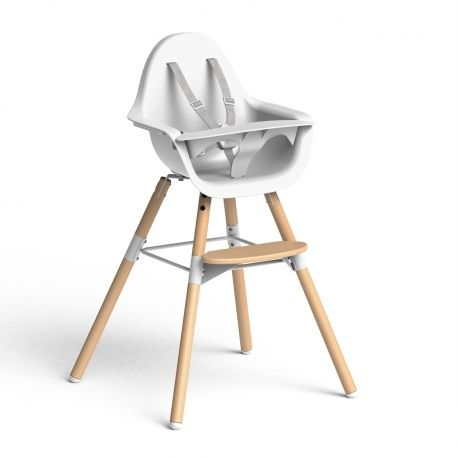 La trona Evolu de Childhome proporciona seguridad, diseño, comodidad y practicidad para ti y tu bebé.