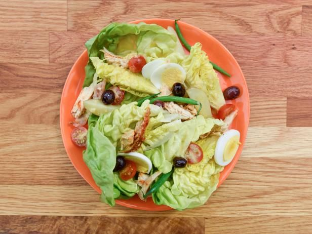 Get Chicken Nicoise Salad Recipe from Food Network