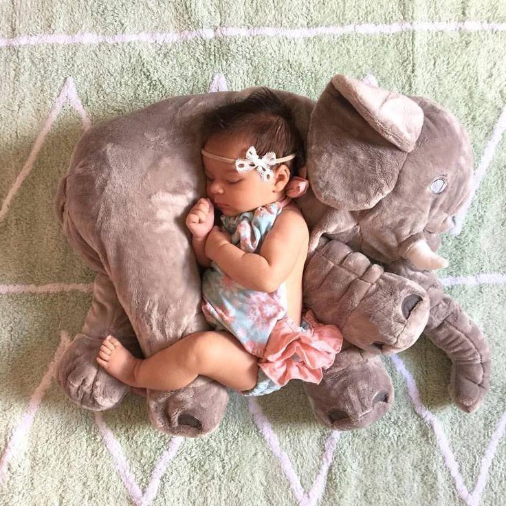 Elephant baby pillow..