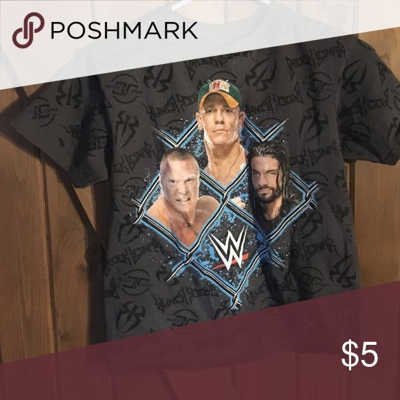 Wwe shirt John cena, brock lesnar and Seth Rollins t-shirt. (10/12) wwe Shirts & Tops Tees - Short Sleeve