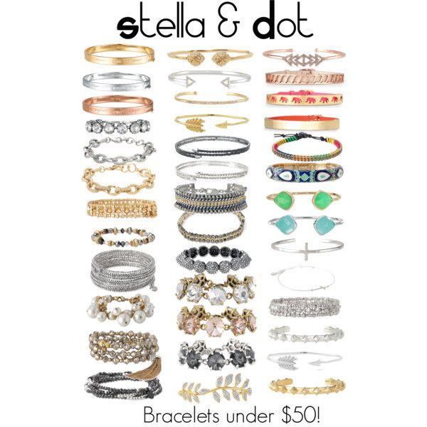 Stella & Dot Bracelets under $50