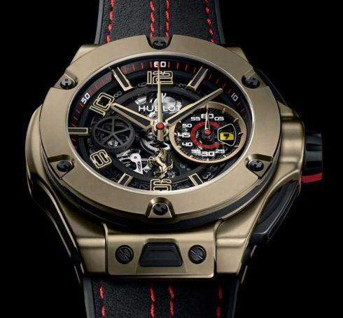 Auf 250 limitiert: Hublot Big Bang Ferrari Magic Gold