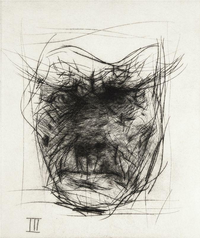 Drypoint etchings - Alan Flood