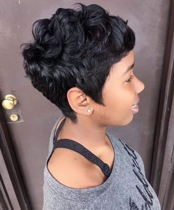Short Hairstyles Black Hair short hairstyles Find This Pin And More On Ca Rute Short Hairstyles By Pondalon