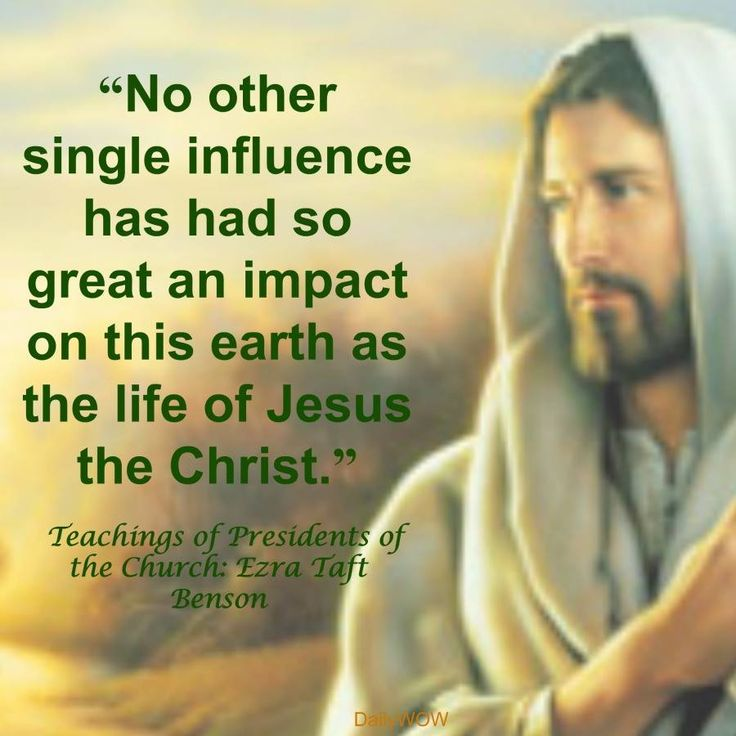 the impact of jesus on the Why jesus totally changed history have you ever wondered why jesus managed to have such a lasting impact jesus did not self promote.