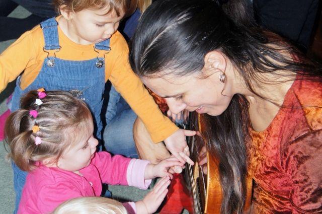 Muziek op schoot - Mamaliefde