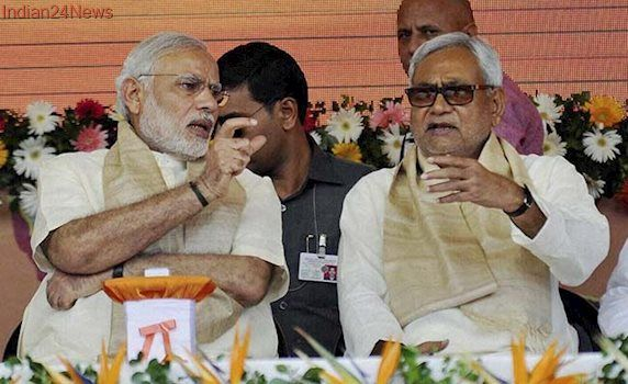 After Skipping Sonia Gandhi's Lunch, Nitish Kumar Arrives For PM's Invite