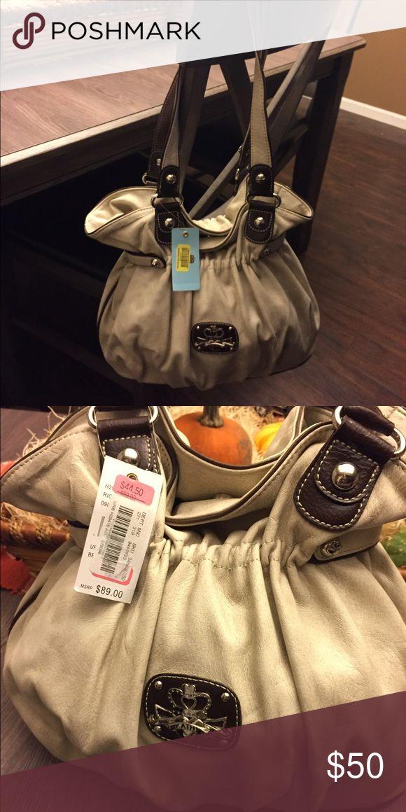 Brand new with tags tan Kathy Van Zeeland purse! Large Kathy Van Zeeland tan shoulder bag Kathy Van Zeeland Bags Shoulder Bags