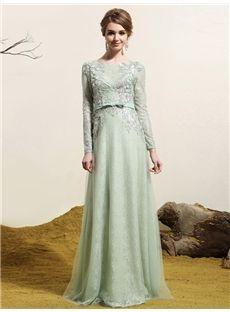 Zipper-up Evening Lace Summer Bateau Spring All Sizes Floor-Length Dress
