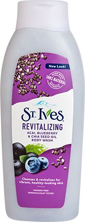 Revitalizing Açai, Blueberry & Chia Seed Body Wash