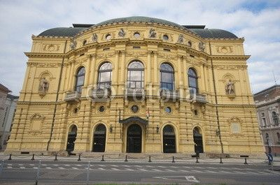 National Theater building, Szeged, Hungary