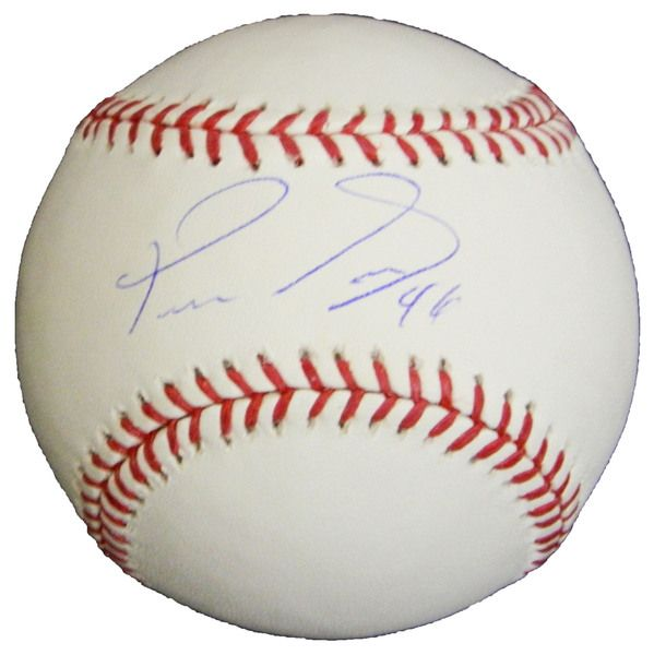 Pedro Strop Signed Rawlings Official MLB Baseball - Schwartz COA