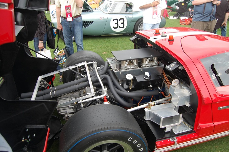 1966 ford gt40 mki ford 289 engine oc imgur post war sports car racing pinterest engine ford gt40 and ford - 1966 Ford Gt40 Engine