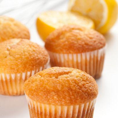 Yγιεινή συνταγή για muffins με λεμόνι και γιαούρτι