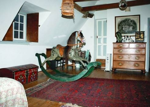 The children's bedroom at The Manor Hemingford Grey