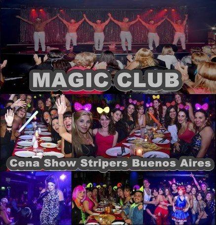 Magic Club Strippers – Despedidas de Solteras Cena Show Stripers Buenos Aires – Magic Club San Telmo -Ideal para festejar despedidas de solteras, divorcios, separaciones o salida de amigas. Cena sh…
