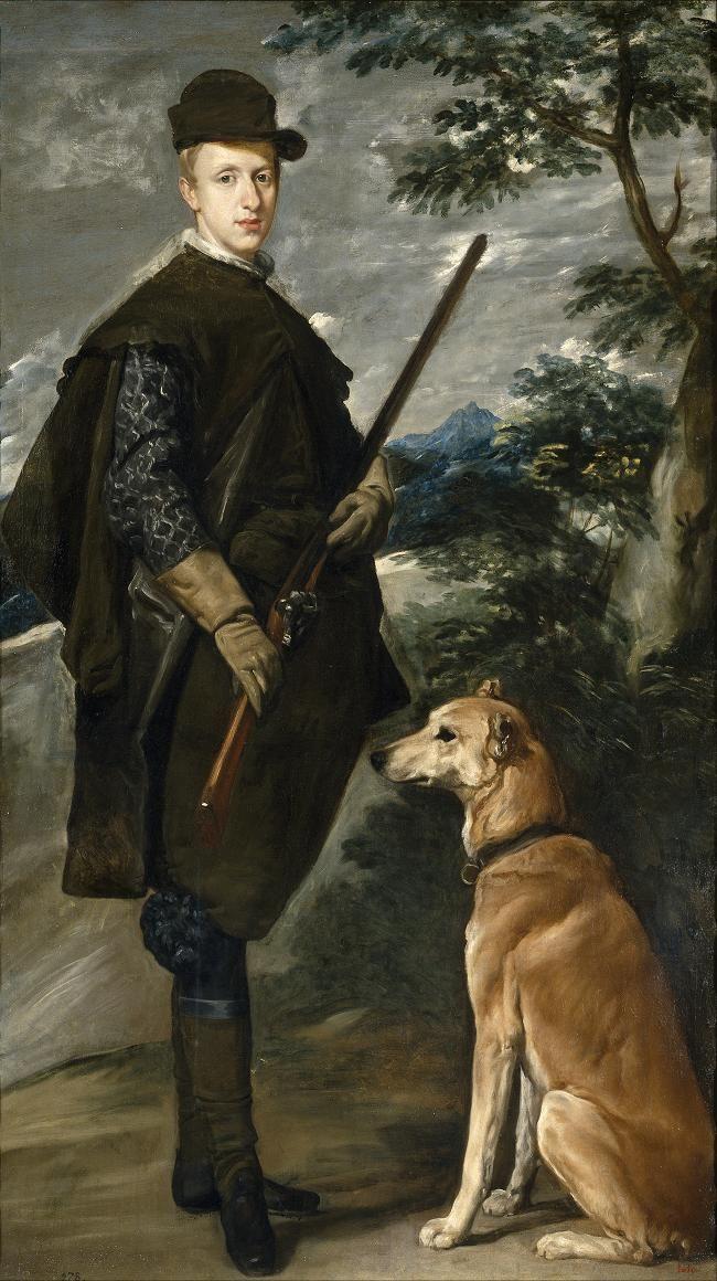 NUMBER 7 - El cardenal infante DON FERNANDO  de Austria cazador Velasquez