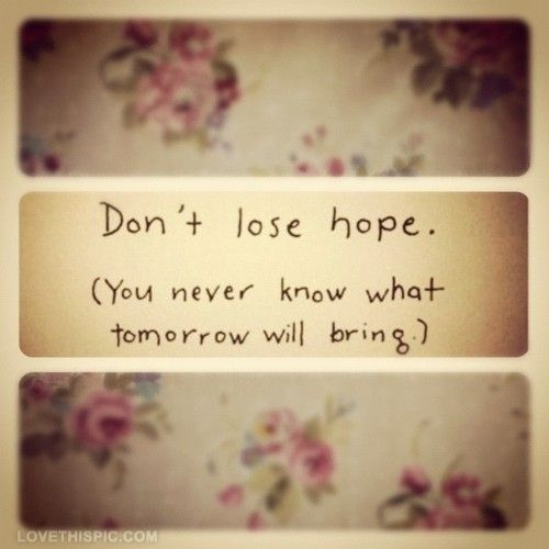 Inspirational Quotes About Hope: Best 25+ Losing Hope Quotes Ideas On Pinterest