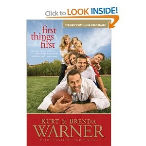 First Things First by Kurt and Brenda Warner