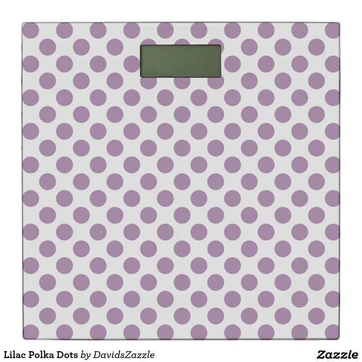 Lilac Polka Dots Digital Scale Available on many products! Hit the 'available on' tab near the product description to see them all! Thanks for looking!  @zazzle #art #polka #dots #shop #home #decor #bathroom #bedroom #bath #bed #duvet #cover #shower #curtain #pillow #case #apartment #decorate #accessory #accessories #fashion #style #women #men #shopping #buy #sale #gift #idea #fun #sweet #cool #neat #modern #chic #laptop #sleeve #black #orange #blue #lilac #purple #violet  #white