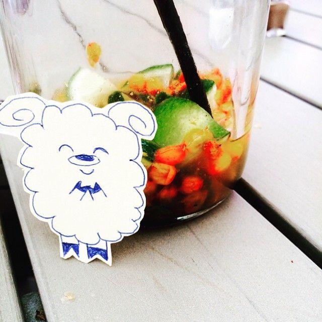 Барашек предупреждает: лето отличное, но опасное время - горячие головы необходимо вовремя охлаждать и лучше всего ягодно-фруктовыми коктейлями будьте умницами и не совершайте необдуманных глупостей. И отличного вечера! #lamb#sheep#hertje#illustration#inspiration#becool#behappy#summer#crazy#joy#fun#овцаца#овечка#барашек#летоахлето#глупости#счастье#тудагде#овцемушкетеры#приключения#проверено#охладись#новосибирск#вдохновение#лайфхак #sun #sunnydays #photooftheday #smile #picoftheday