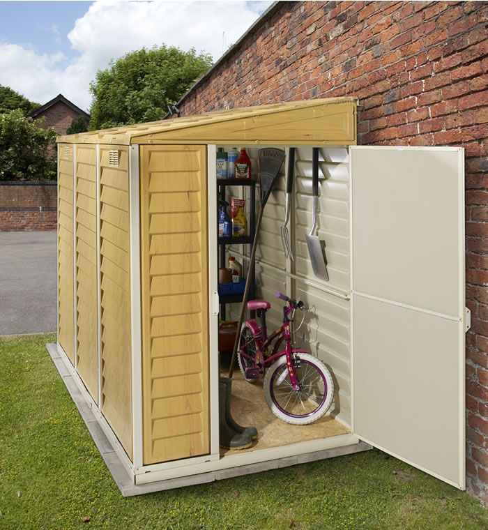 benefits of lean to garden sheds