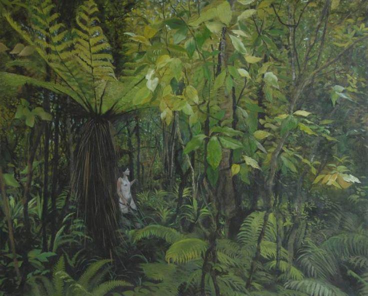"Saatchi Art Artist Alii Scott; Painting, ""Tararua"" #art"