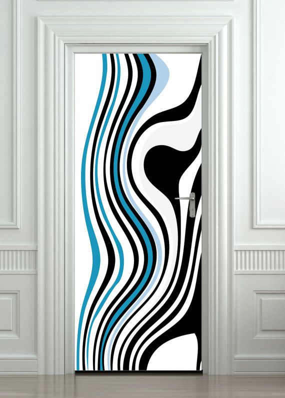 Door Wall Sticker / Door Sticker / Door Mural / Door Wrap / Self Adhesive