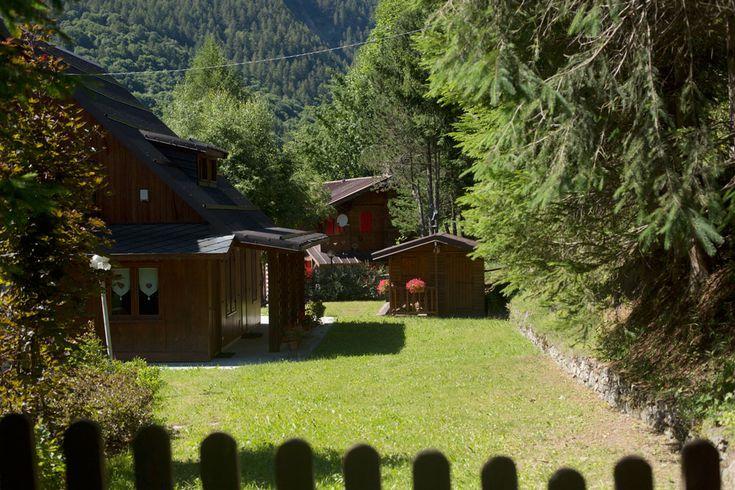 Prali Italy Samantha De Reviziis  small houses in the pines Prali