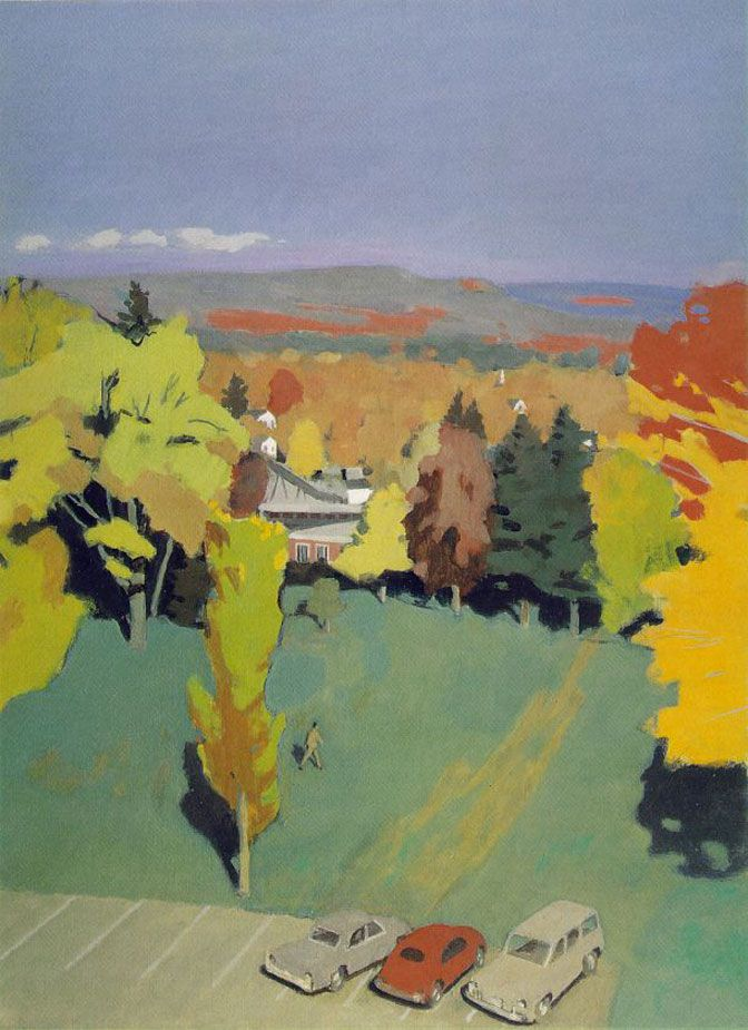 "Fairfield Porter – ""Mystery that is Essential to Reality"" : Painting Perceptions"