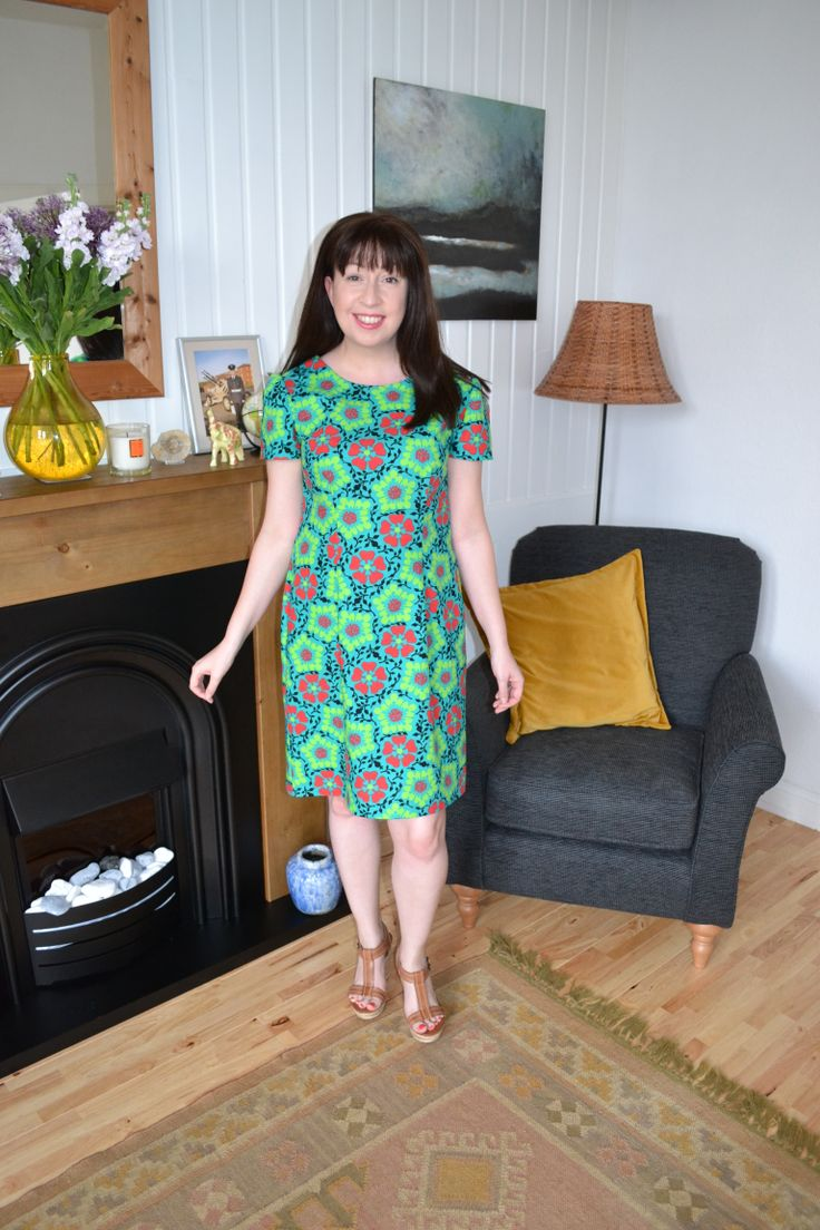 Megan dress, from Tilly Walnes (aka Tilly & the Buttons) fab book 'Love at First Stitch'.