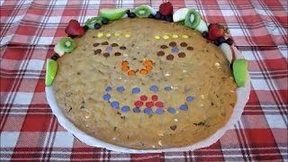 Giant Chocolate Chip Cookie   Easy and Fun Cookie Recipe For Kids