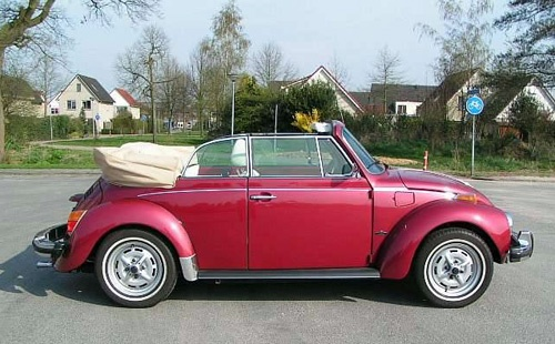 1303 Cabrio 1.6L - Volkswagen Kever 1303 Cabrio 1.6L inj. USA uitvoering - Price:  €15.750 ($20,600.00)    SOLD by   Schipper Classic and Sportcars, the Nederlands.