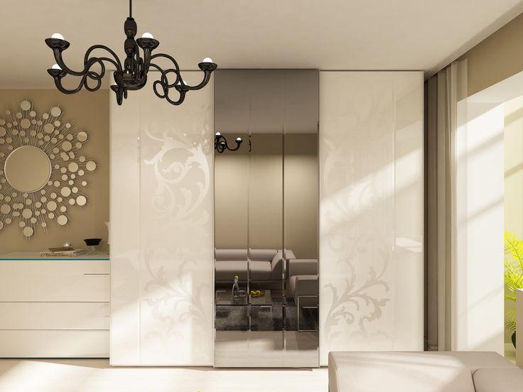 Зеркала в спальне и прихожей. Иллюзия пространства в интерьере.