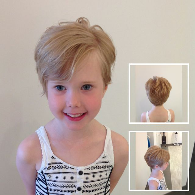 Haircut Of Girl Child: This Is The Perfect Haircut For A Little Girl! It's Low