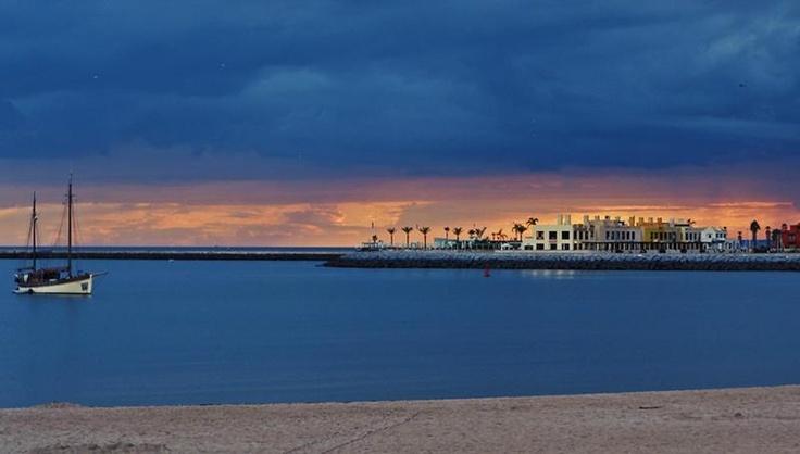 Sunset in Praia Grande - Ferragudo