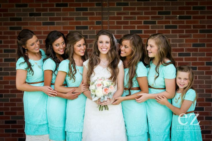 Jill Duggar wedding party