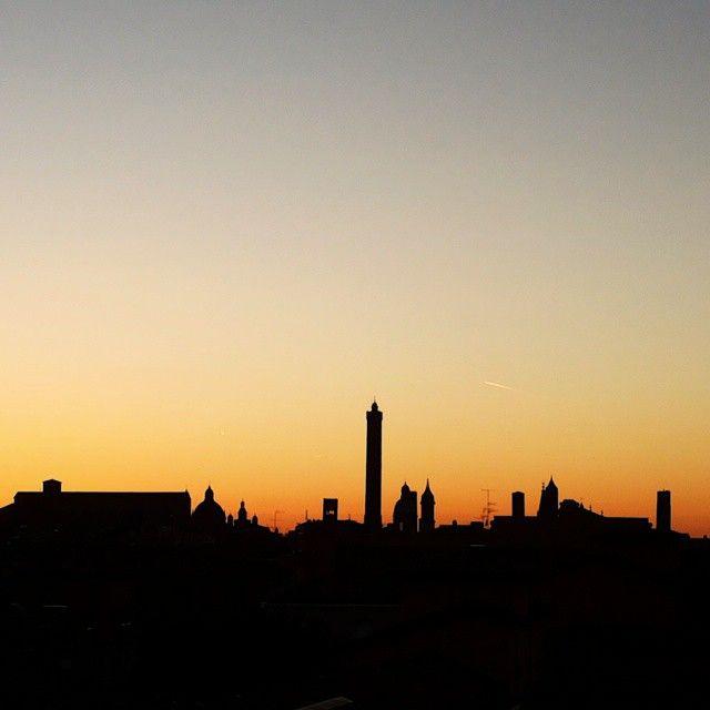 Bologna skyline - Instagram by fornafra