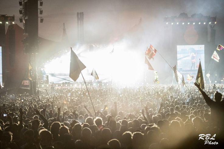 Metallica at Roskilde Festival 2013 #orange #lights
