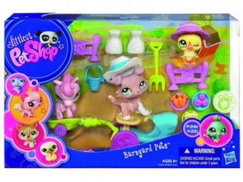 lps sets | HASBRO LPS - hrací set - 3 zvířátka a spousta doplňků cena od ...
