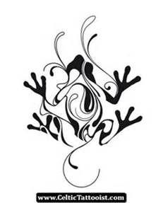 Tattoo heart tattoo yoe for Celtic frog tattoo designs