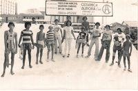 Inauguração da Pista de Skate na Praça Almirante Tamandaré em fevereiro de 1977 na cidade de Balneário Camboriú os direitos das imagens estão em nome de Gilmar Quati Fabris não consegui informações se era ele nas imagens